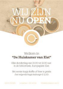 Huiskamer open op Kokkeland 17 @ Aster Uitvaartverzorging